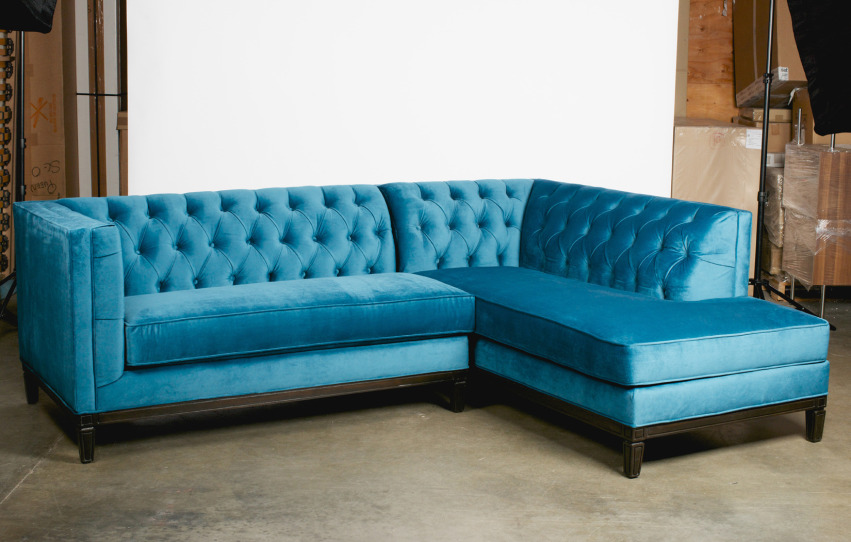 The Chelsea Sectional | Bumper Ottoman