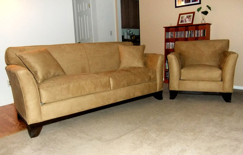 The Manhattan Sofa + Chair