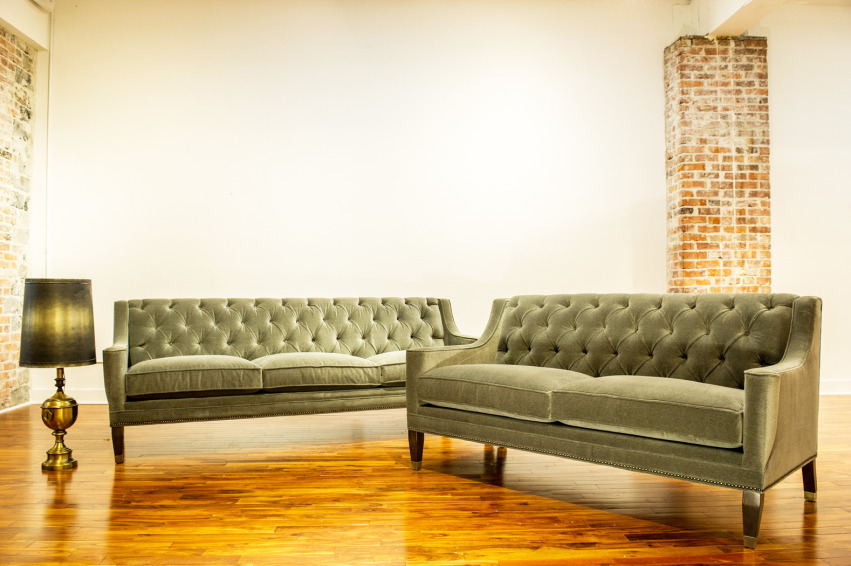 The Paris Sofa + Loveseat