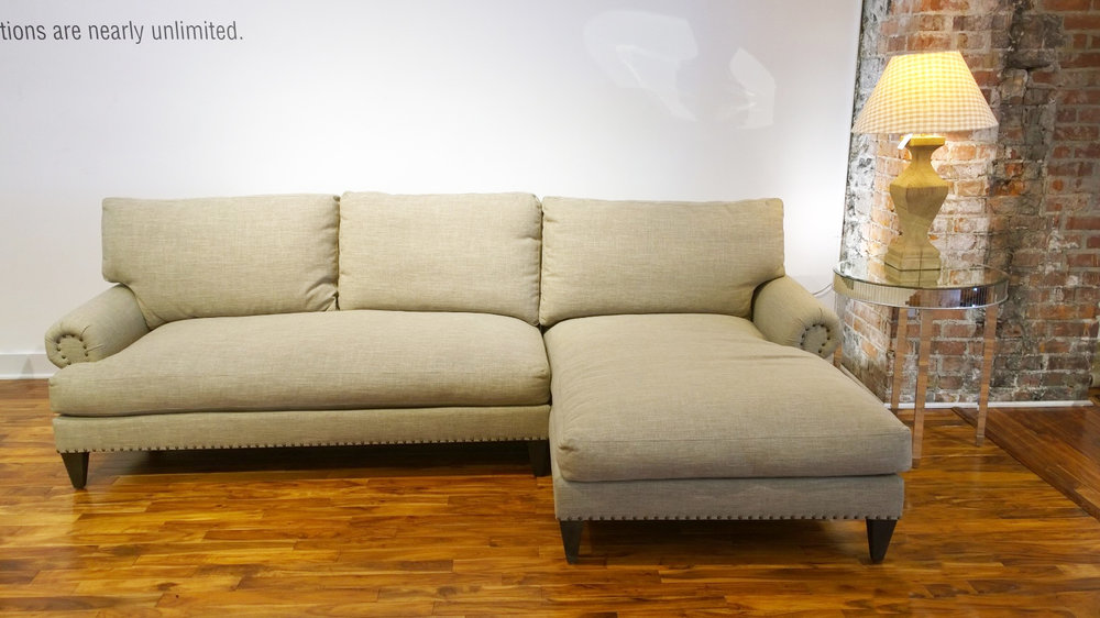 The Carlisle Sofa-Chaise