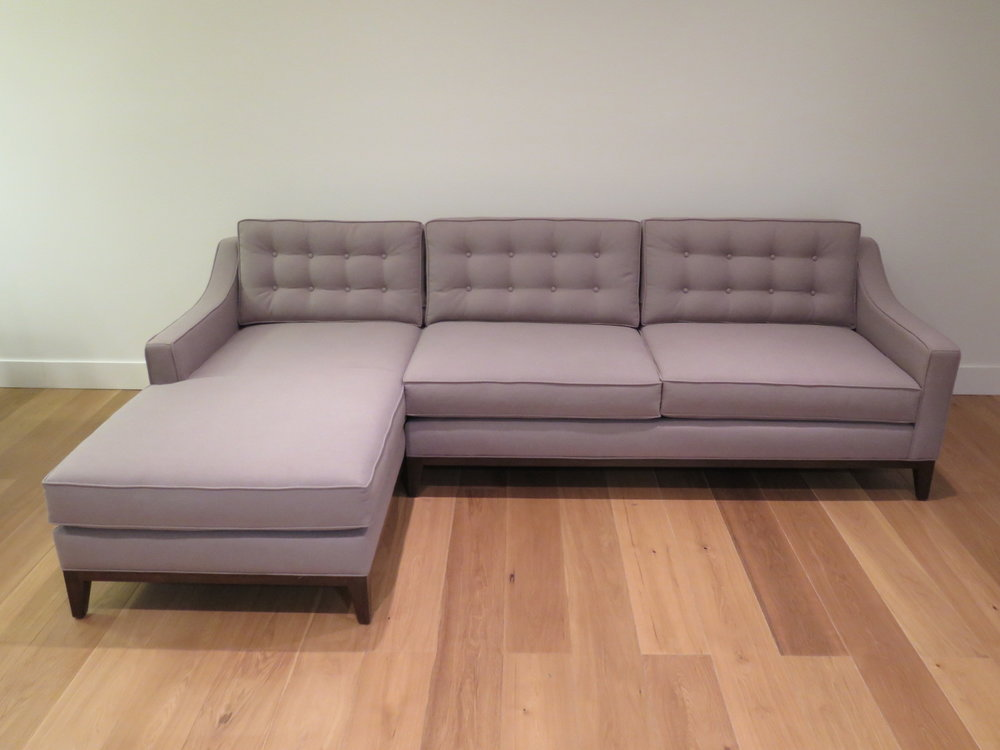 The Charleston Sofa-Chaise