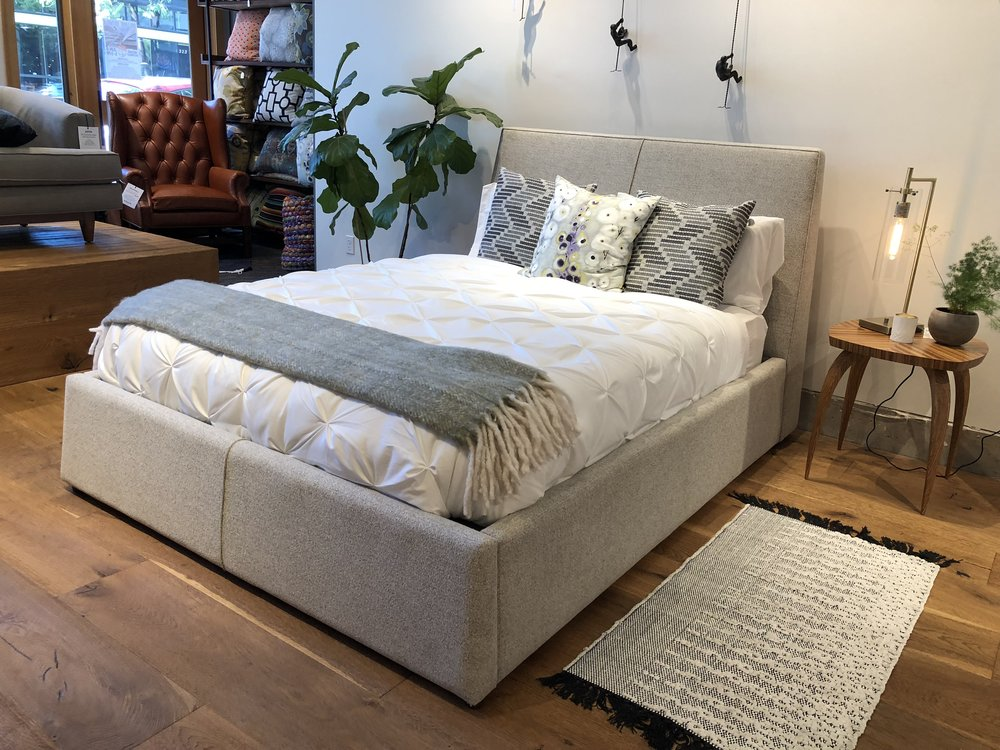 The Anton & Custom Bed Frame Design Seattle | Bedroom Furniture | COUCH