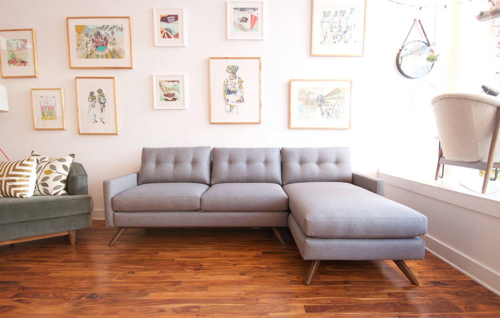 The Oslo Sofa-chaise | Reversible