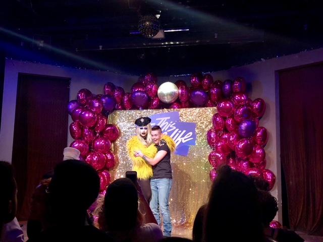 Hot Pink & Purple Satin Mini Foil Round Balloons