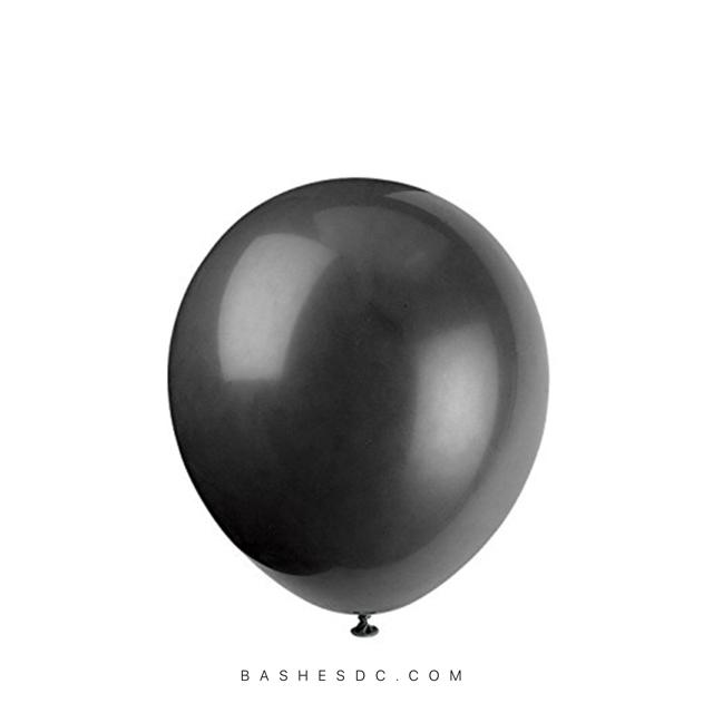 BASHES Onyx Mini Latex Balloons