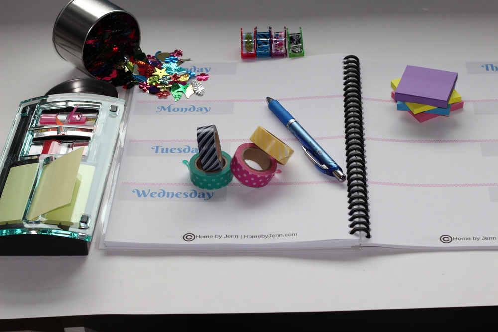 My Favorite Things.  My Ultimate Planner with a giveaway!  A walk through my ultimate planner and your chance to win a planner.