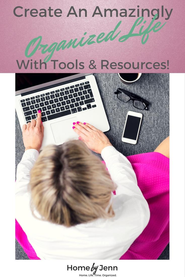 Time saving, life organizing tools.
