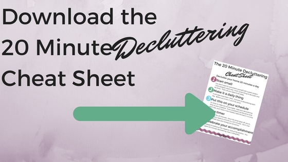 Declutter-Cheat-Sheet