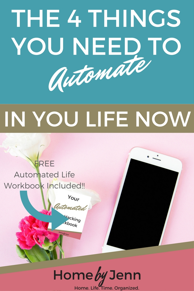 The 4 things you need to automate in your life now home for Home need things