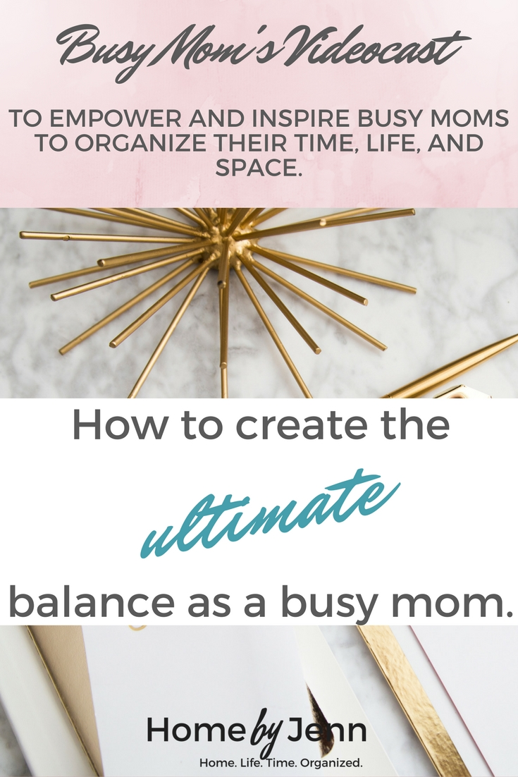 Michelle from BirdandIvy.com joins us to share how she is able to create the ultimate balance as a busy mom.  She runs 2 websites, has 4 kids, and is the PTA president at her children's school.  She is sharing her secrets with us!!