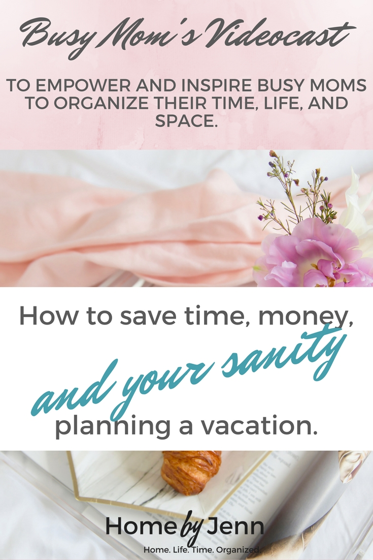 Before you try to plan your next family vacation, you NEED to watch this!  Learn how to save time, money, and your sanity planning your next family vacation.  Included is a FREE Vacation Sanity Checklist for you to download.  Click through to learn more.