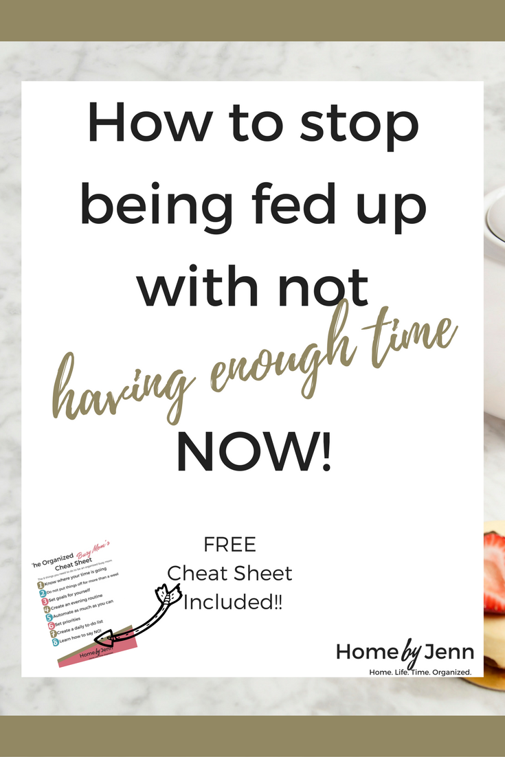 Are you tired of not having enough time?  It is time to start knowing where your time is going so you can get more done in less time.  In this post you'll learn exactly how to know where your time is going.  Don't forget to download the free cheat sheet!!