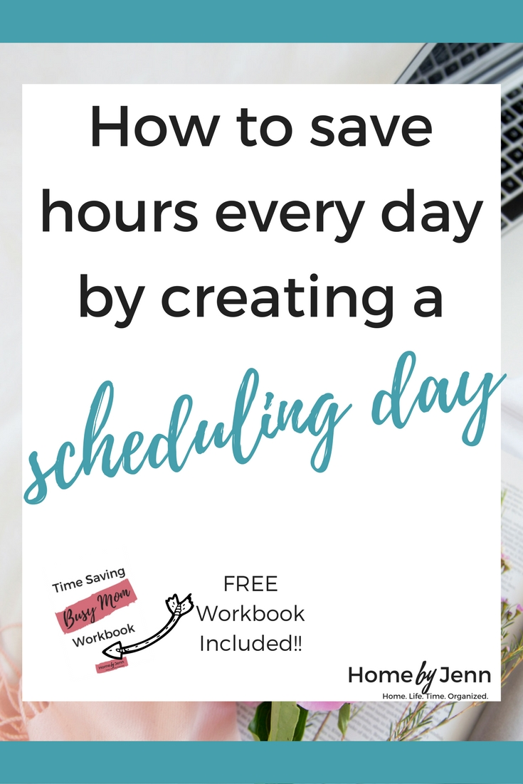 save time, be organized, batching your work, creating a schedule