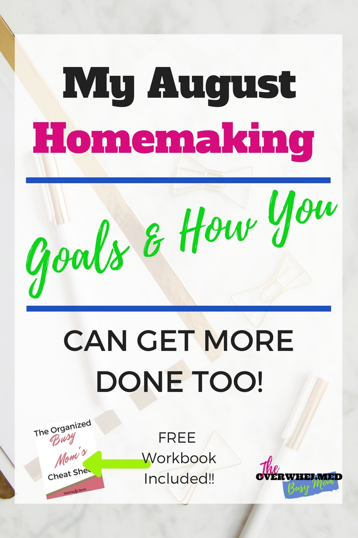 Do you want to accomplish some of your goals?  In this post, Jenn shares her goals and complete plan of attack about how she's going to accomplish them.  Start creating and accomplishing your goals with the free workbook included too.