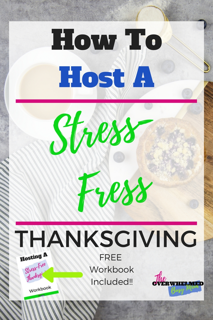 In this post, Jenn shares 4 simple things you can do to host a stress-free Thanksgiving this year.  These tips with help you become more organized.  She also includes a free Stress-Free Thanksgiving Workbook to help you out.