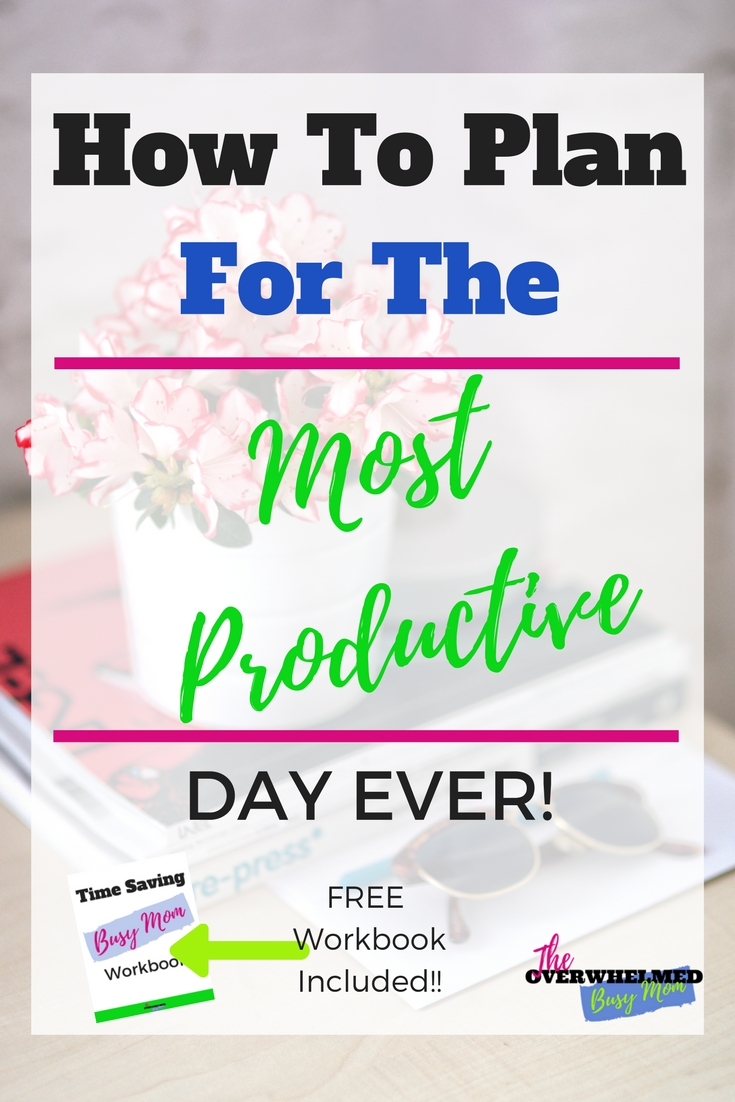 It can be so hard to run your day successfully without distractions or just time getting away from you. This post goes in-depth into what exact steps need to be taken to have the most productive day ever. These are quite simple things you can implement now! Also, there is a have the  most productive day ever free checklist included .  Take action now!  Click through to not just have the most productive day ever, the most productive  DAYS  ever!