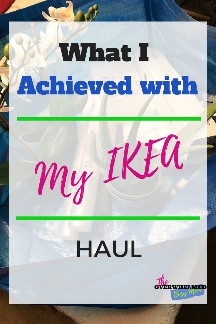 What I achieved with my IKEA Haul
