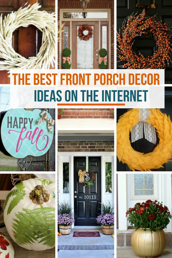 Creating an inviting fall front porch isn't as easy as it looks. By becoming inspired you too can enjoy a decorated front porch for fall that your neighbors will want to duplicate. In this post, you'll see some of the best fall front porch decor ideas on the internet. #home #homedecor #fall #falldecorating #falldecor #falldecorideas #frontporch #fallfrontporch