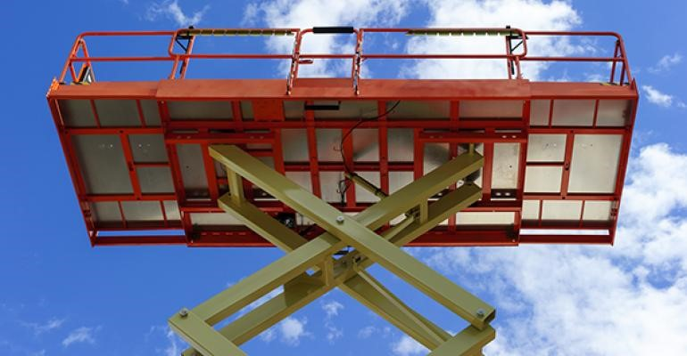 Scissor Lift Fall Protection - Required or Not? — SALUS, LLC