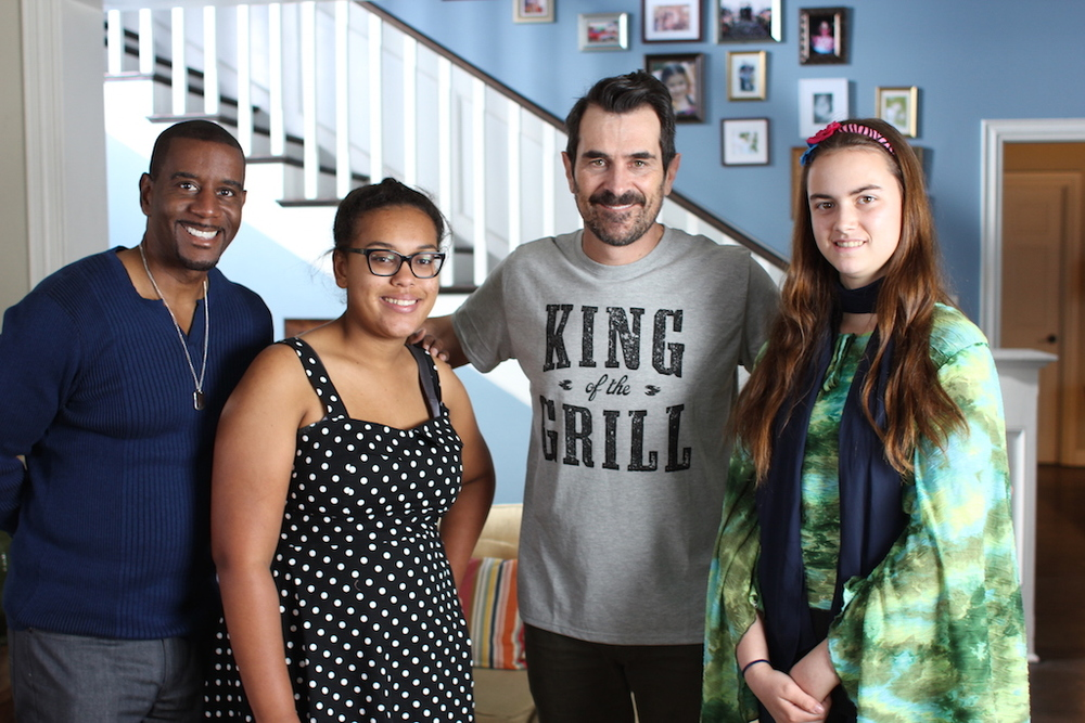 Ty Burrell with Kids in The Spotlight Actors