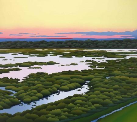 """Sunset-Beaufort-River""-450x399.jpg"