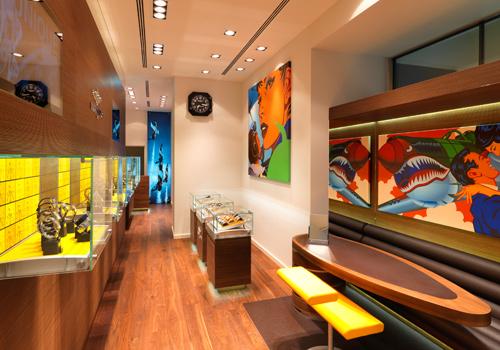 Das Architekturkonzept im Inneren ist sehr modern und puristisch gehalten.