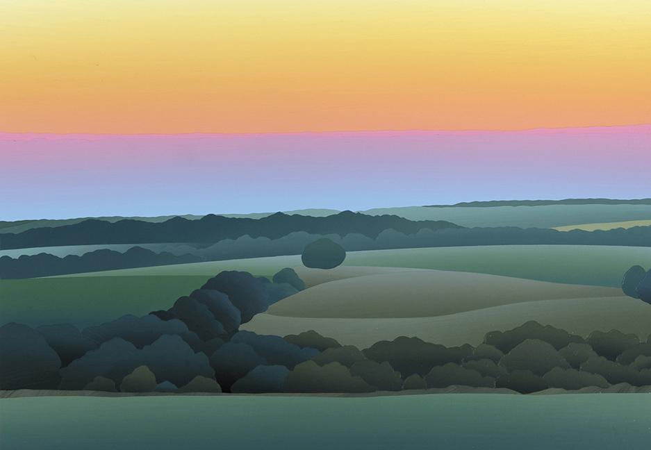 """Sunset on the Bottoms"""" 2009"