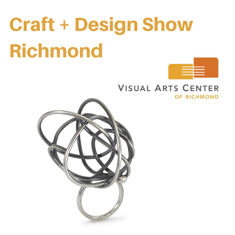 Craft Design Show Richmond Melle Finelli Jewelry