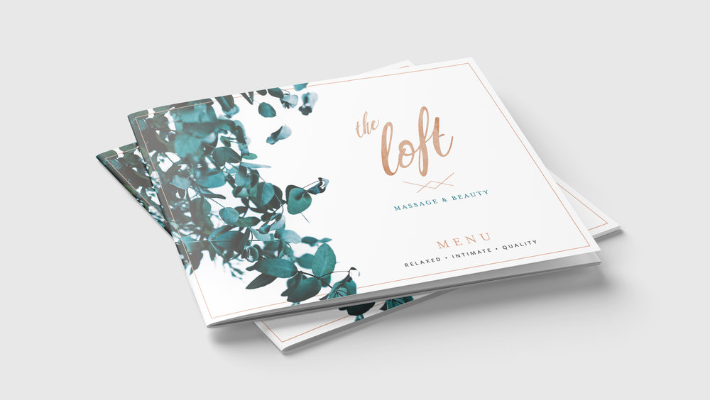 The Loft Massage and Beauty Branding
