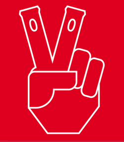 LOGO: As the only North American carrier with outlets at every seat, this logo helped Virgin America celebrate take off.