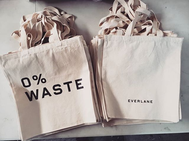 Totes for @everlane  #screenprinting #westoakland #oakland #local #revoltsilkscreen #supportlocal #silkscreen #plastisol #localeconomy