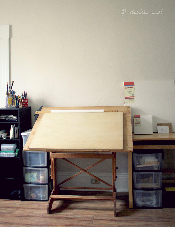 my new design/art studio...yay, lots of natural light! ventura, california. photo by desiree east