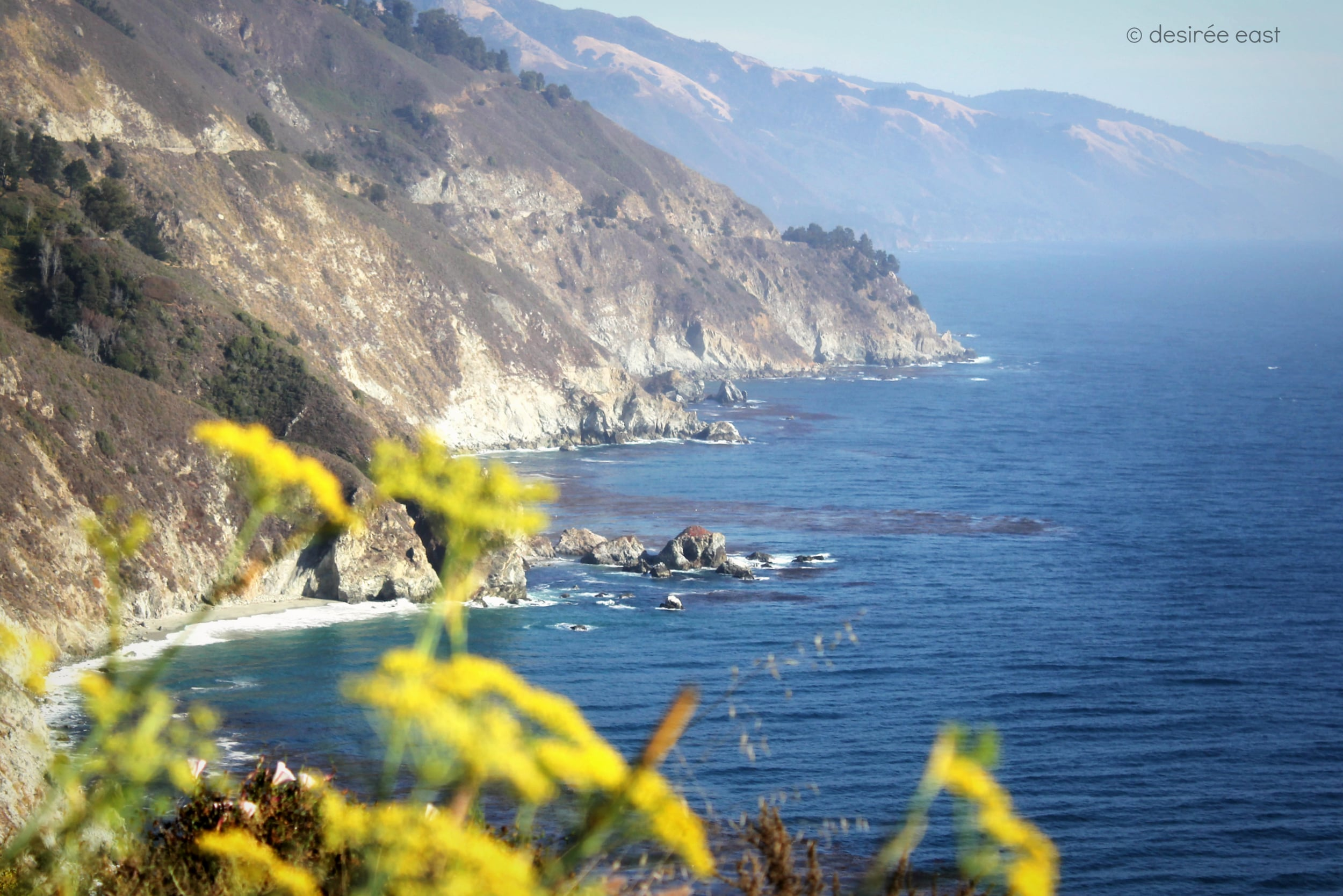 a beautiful fall day. big sur, california. photo by desiree east.