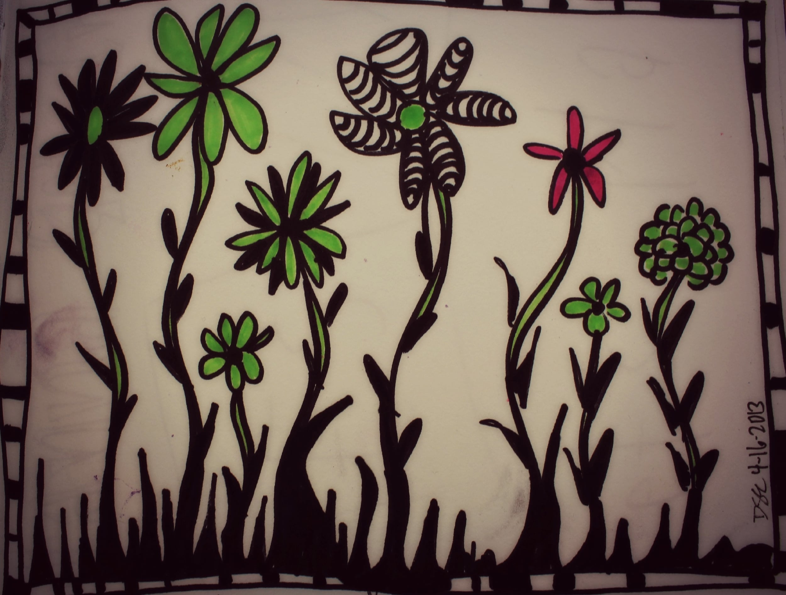 take 5 doodling with creative coach desiree east
