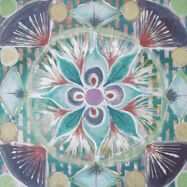 mandala painting meditations online art class with creativity coach desiree east