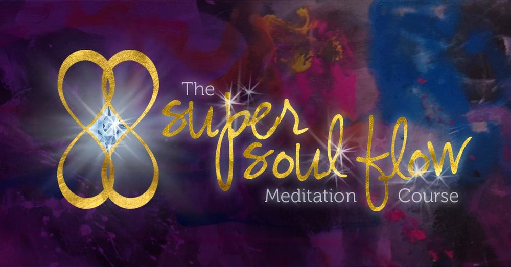 super soul flow meditation course with creatively fit coach desiree east
