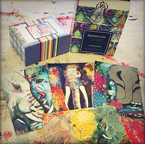 Bonus Gift: - 100 Elephant Love Postcards