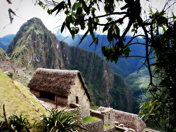 sneak peak of macchu picchu. photo by desiree east