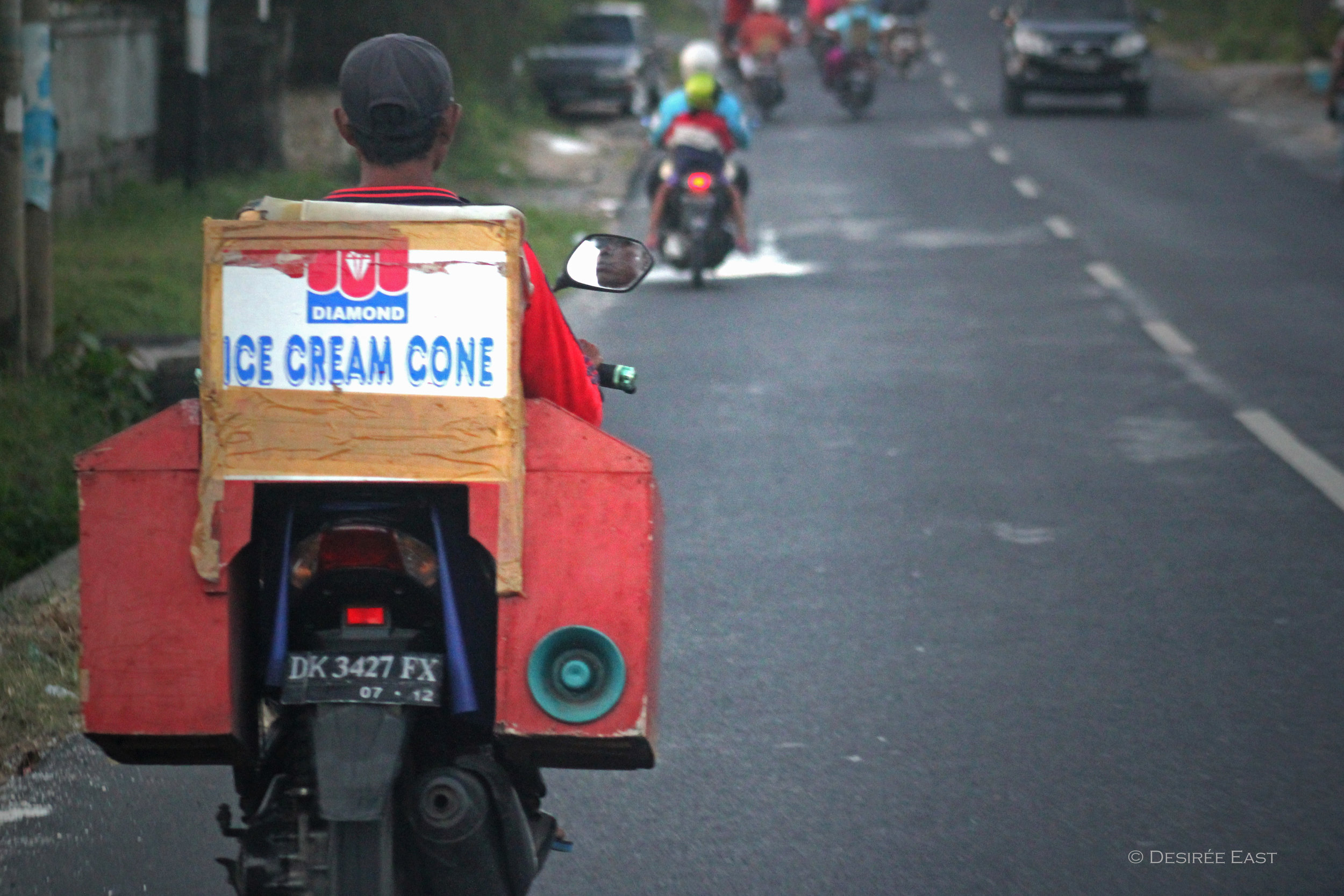time for ice cream. bali, indonesia. photo by desiree east