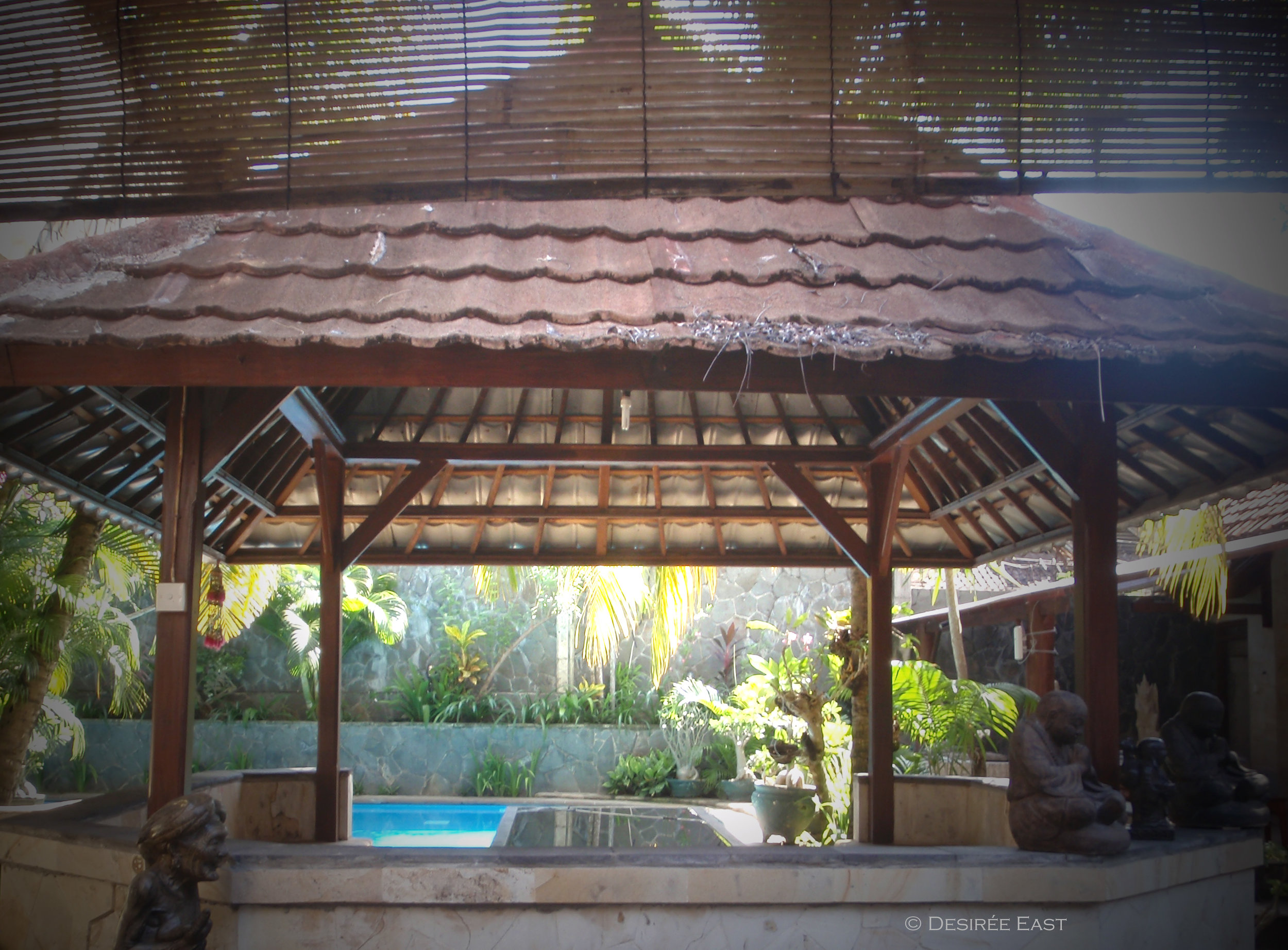 another lounging area. andree homestay. bali, indonesia. photo by desiree east