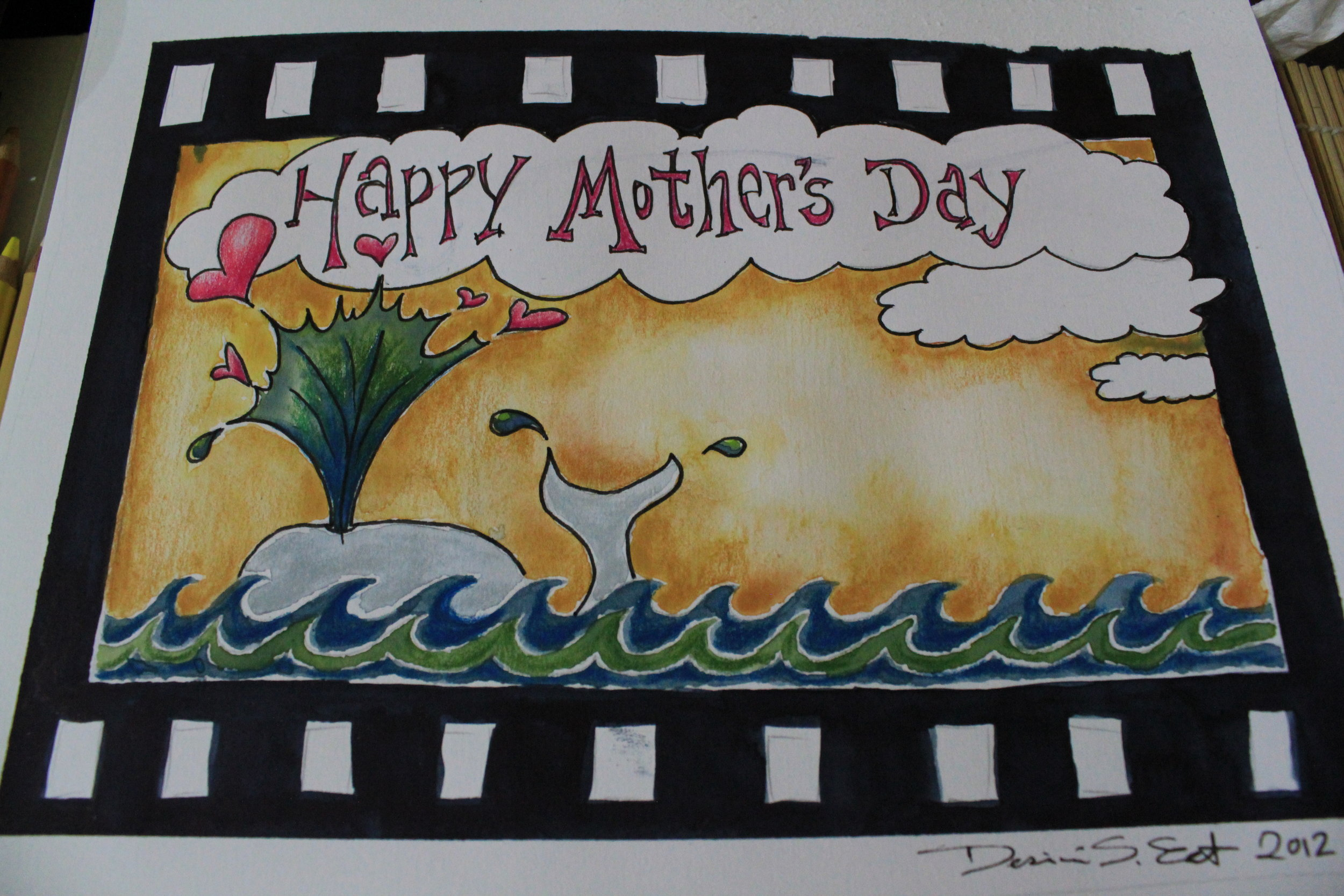 mothers day illustration by desiree east