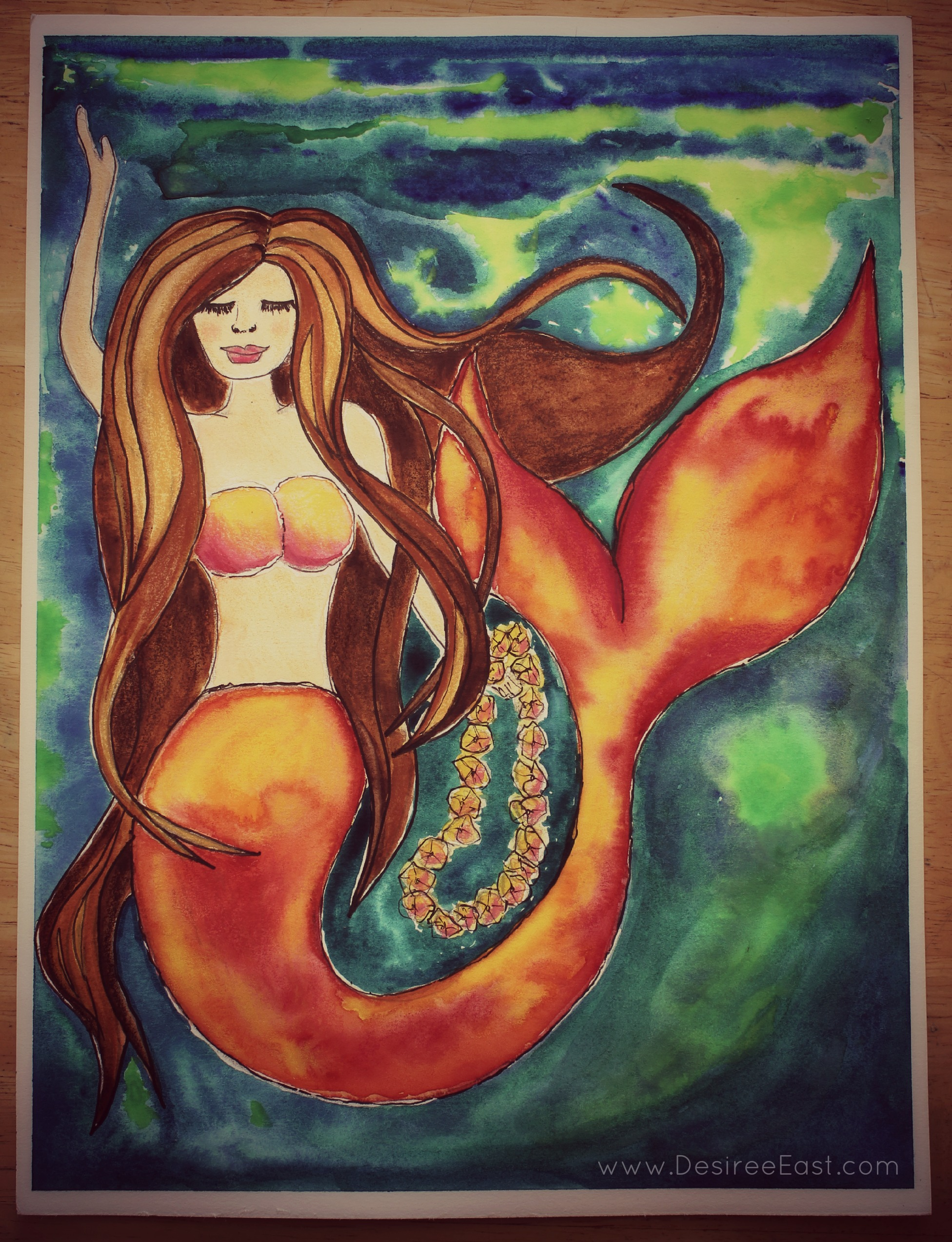 mothers day mermaid by desiree east