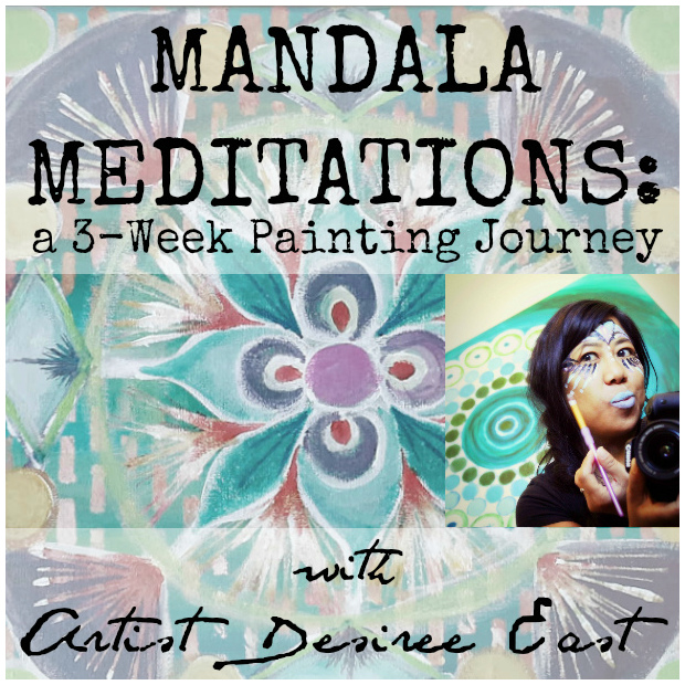 mandala meditations with artist desiree east - square logo