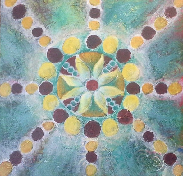 mandala painting meditations with desiree east