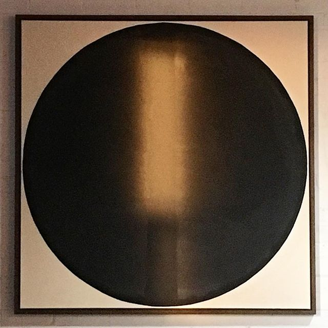 Shaun Nilsson original painting. Acrylic on canvas 2016. Just because. Shout out to Tadasky for the inspiration. #painting #acrylicpainting #art #artist #shaunnilsson #inspiration #circle #contemporaryart #painter #style #interiordesign #2016 #nyc