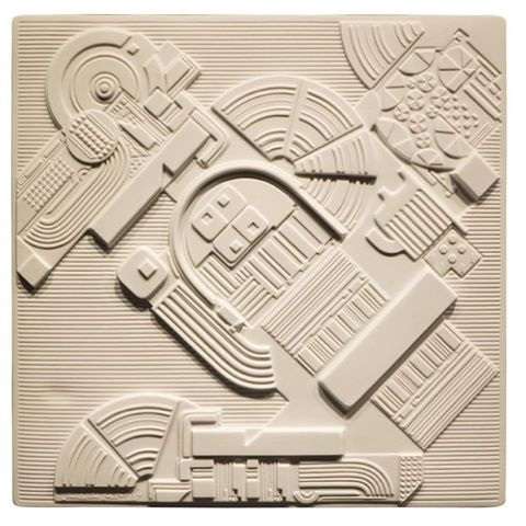 THIS vibe for a 3D knit. Eduardo Paolozzi Plaque #design #designer #inspiration #fashion #eduardopaolozzi #textiledesign #3dknit #fashiondesigner #fashiondesign #luxury #menswear #mensstyle #comingsoon