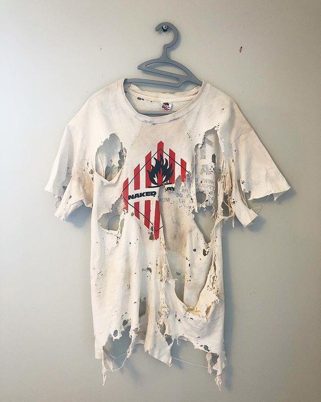 CORSA shop mascot. #tshirtdesign #nakedraygun #destroyedjeans #jeansdestroyed