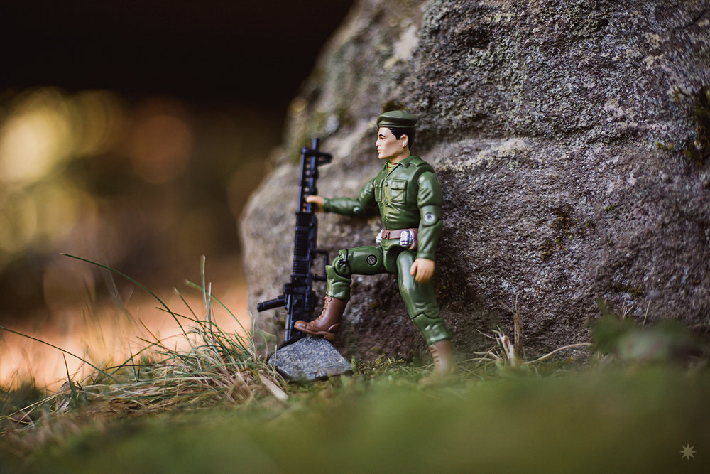 G.I. Joe Joe Colton Action Figure Hasbro 1990s Mail Away Toy Photo Photography Outdoor