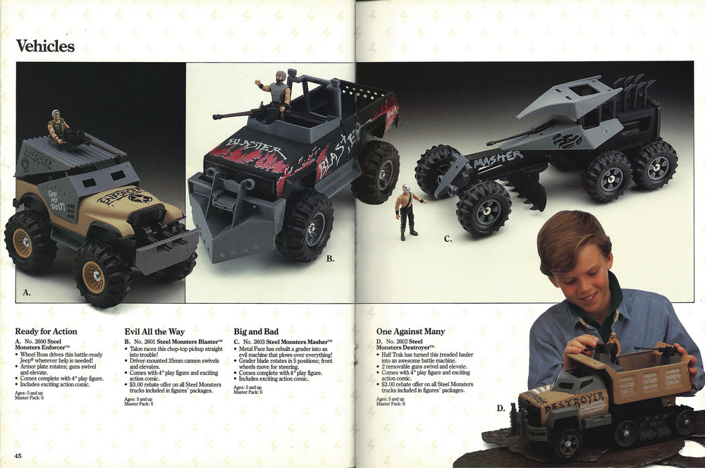 Tonka Dealer Catalog, 1987. Source:  battlegrip.com