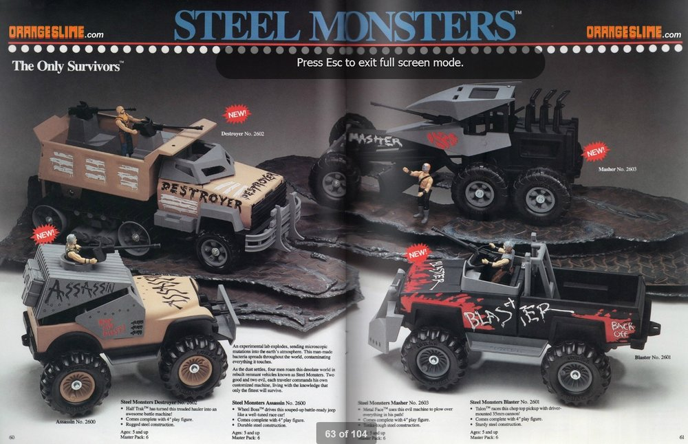 Tonka Dealer Catalog, 1986. Source:  orangeslime.com